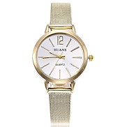 cheap -Women's Wrist watch Fashion Watch Chinese Quartz Large Dial Alloy Band Casual Minimalist Silver Gold Rose Gold