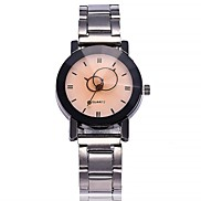 cheap -Women's Wrist watch Fashion Watch Chinese Quartz Large Dial Alloy Band Casual Minimalist Silver