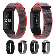 cheap -Watch Band for Fitbit Charge 3 Fitbit Sport Band / Modern Buckle Nylon Wrist Strap