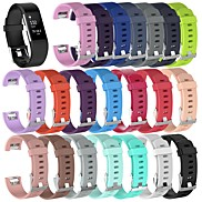 cheap -Large Watch Band for Fitbit Charge 2 Fitbit Sport Band Silicone Wrist Strap