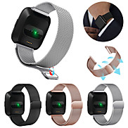 cheap -Watch Band for Fitbit Versa / Fitbit Versa Lite Fitbit Sport Band / Classic Buckle / Milanese Loop Stainless Steel Wrist Strap