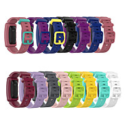 cheap -Watch Band for Fitbit Ace 2 Fitbit Sport Band Silicone Wrist Strap