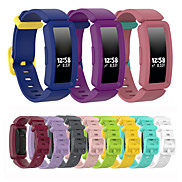 cheap -Silicone Watch Band Wrist Strap For Fitbit Inspire HR / Ace 2 Replaceable Bracelet Wristband