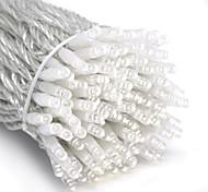 abordables -10m guirlandes lumineuses 100 leds dip led 1pc blanc parti décoratif linkable 100-240 v