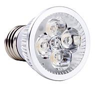 abordables -1pc 4 W Spot LED 250LM E26 / E27 4 Perles LED LED Haute Puissance Blanc Chaud Blanc Froid Blanc Naturel 85-265 V
