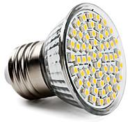 economico -1pc 3.5 W Faretti LED 300-350 lm E26 / E27 60 Perline LED SMD 2835 Bianco caldo Luce fredda Bianco 220-240 V