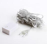 economico -10m luci a stringa 100 led dip led 1pc bianco caldo decorativo 220-240 v ip44