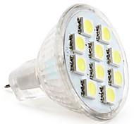 economico -1pc 1 W Faretti LED 50-80 lm MR11 MR11 10 Perline LED SMD 5050 Bianco caldo Luce fredda Bianco 12 V