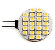 economico -Faretti LED 2700 lm G4 24 Perline LED SMD 3528 Bianco caldo 12 V