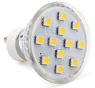 abordables -1pc 2 W Spot LED 80-100 lm GU10 12 Perles LED SMD 5050 Blanc Chaud Blanc Froid Blanc Naturel 220-240 V