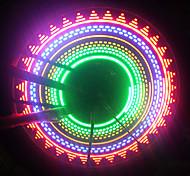abordables -LED Eclairage de Velo Capots de feux clignotants Éclairage pour roues de vélo Vélo Rayons Lumières VTT Vélo tout terrain Vélo Cyclisme Imperméable Sécurité Portable Facile à Installer AAA Cyclisme