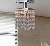"""economico -Luci da incasso a 1 luce 8 (3 """") in cristallo / stile mini metallo cromato moderno contemporaneo 110-120 v / 220-240 v / g9"""