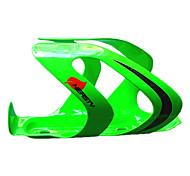 abordables -Vélo Bouteille d'eau Cage Fibre de carbone Portable Durable Facile à Installer Pour Cyclisme Vélo de Route Vélo tout terrain / VTT Fibre de carbone Vert