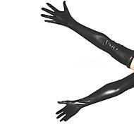 abordables -Gants Costume de peau Ninja Adulte Spandex Latex Costumes de Cosplay Genre Homme Femme Couleur Pleine Noël Halloween