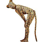 abordables -Costumes zentai à motifs Costume de peau Costumes complets Animal Monstre Anne Takamaki / Panthère Adulte Costumes de Cosplay Genre Homme Femme Motif Léopard Motif Fourrure d'Animaux Halloween Nouvel