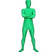 abordables -Combinaison Morphsuit Costume de peau Costumes complets Ninja Adulte Costumes de Cosplay Genre Homme Femme Couleur Pleine Halloween / Costume Zentai / Collant / Combinaison