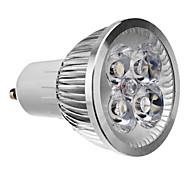 abordables -4 W Spot LED 3000 lm GU10 4 Perles LED LED Haute Puissance Décorative Blanc Chaud 85-265 V