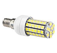 abordables -Ampoules Maïs LED 630 lm E14 T 69 Perles LED SMD 5050 Blanc Naturel 220-240 V / # / #
