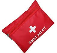abordables -Trousse de premiers soins Portable Kit de Secours Nylon Camping / Randonnée Rouge 1 pcs