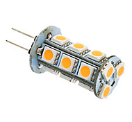 abordables -2 W Ampoules Maïs LED 180-220 lm G4 GU4(MR11) T 18 Perles LED SMD 5050 Blanc Chaud Blanc Froid 12 V