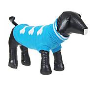 economico -Cane Maglioni Vestiti del cucciolo Inverno Abbigliamento per cani Vestiti del cucciolo Abiti per cani Costume per ragazza e ragazzo cane Lanetta XS S M L XL