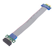 economico -36 Pin Ribbon PCI Express (PCI-E) Cavo di estensione per PC Desktop