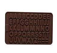 economico -Cottura di DIY Strumenti / inglese stampi in silicone Alphabet