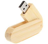 economico -8GB chiavetta USB disco usb USB 2.0 di legno Rotante