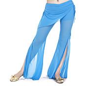 abordables -Danse du ventre Pantalon Femme Entraînement Polyester