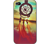 economico -Custodia Per iPhone 4/4S / Apple iPhone 4s / 4 Per retro Resistente PC