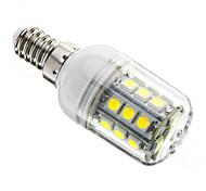 economico -1pc 3 W LED a pannocchia 350-400 lm E14 T 27 Perline LED SMD 5050 Oscurabile Luce fredda 220-240 V