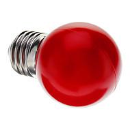 abordables -1pc 0.5 W Ampoules Globe LED E26 / E27 G45 7 Perles LED LED Dip Décorative Rouge 100-240 V / RoHs