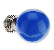 abordables -0.5 W Ampoules Globe LED 30 lm E26 / E27 G45 7 Perles LED LED Dip Décorative Bleu 220-240 V / RoHs