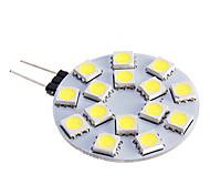 economico -Faretti LED 480 lm G4 15 Perline LED SMD 5050 Bianco caldo Luce fredda 12 V