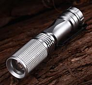 abordables -Lampes Torches LED Lampes de poche Imperméable Mini 150 lm LED LED 1 Émetteurs 3 Mode d'Eclairage Imperméable Mini Petit Multifonction / Alliage d'Aluminium