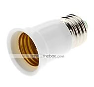 abordables -ZDM® 1 pc E27 à E27 E26 / E27 85-265 V Plastique et métal Plastique Douille ampoule