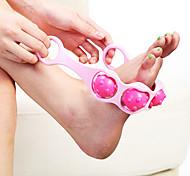 abordables -Pied outil de massage à 3 rouleaux
