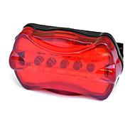 economico -LED Luci bici Luce posteriore per bici luci di sicurezza Ciclismo da montagna Bicicletta Ciclismo Impermeabile Portatile Avvertenze Facile da applicare Batteria Ciclismo - MOON / IPX-4