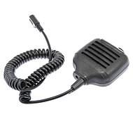economico -microfono per altoparlanti heavy duty kmc-17 con jack per cuffie per walkie talkie
