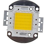 abordables -zdm 1pc intégré led 4000-5000 lm 30 v ampoule accessoire led puce en aluminium pour diy led projecteur de lumière crue 50 w blanc chaud