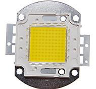 abordables -zdm 1pc bricolage 100w 9000-10000lm naturellement blanc 4000-4500k lumière intégrée module led (dc33-35v 2.8a) réverbère pour projeter la soudure de fil d'or léger de support en cuivre