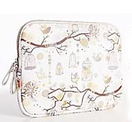 """economico -libertà di uccello disegno 13 15 """"caso sacchetto del manicotto del notebook pc cuoio dell'unità di elaborazione sacchetto portatile"""" 14 """""""