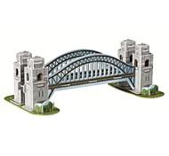 abordables -3d sydney port modèle de pont des puzzles magiques pour les enfants et jouets éducatifs pour adultes (33pcs)