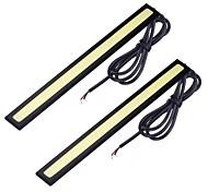 abordables -Automatique LED Feux de Circulation Diurnes Connexion filaire Ampoules électriques 450 lm COB 3 W 76 Pour Universel 10 pièces