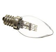 abordables -1 pc 0.5 W Ampoules Bougies LED 15-20 lm E12 C35 4 Perles LED LED Dip Décoration de mariage de Noël Blanc Naturel 100-240 V
