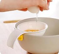 abordables -mini séparateur blanc jaune d'oeuf avec support en silicone outil séparateur d'oeufs cuisine