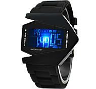 abordables -Homme Montre de Sport Montre Digitale Numérique Numérique Alarme Calendrier Chronographe / Silikon / Un ans