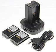 abordables -Batteries et chargeurs Pour Xbox 360 ,  Batteries et chargeurs Plastique unité