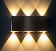 abordables -Moderne contemporain Métal Applique murale 90-240V 1w / LED Intégré
