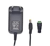 economico -xinyuanyang® 12w 12v 1a eu spina di adattatore di alimentazione CA per lampadina led e telecamera di sicurezza di sorveglianza (100 ~ 240V)